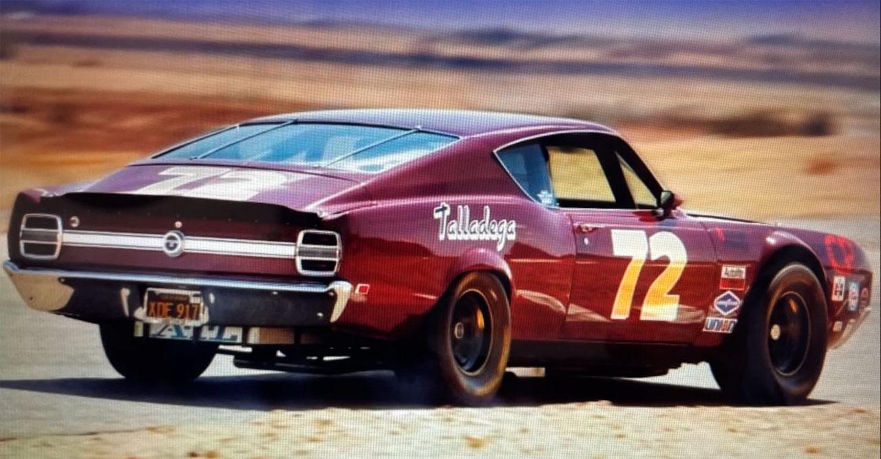1969 Ford Torino Talladega is a street-legal racer