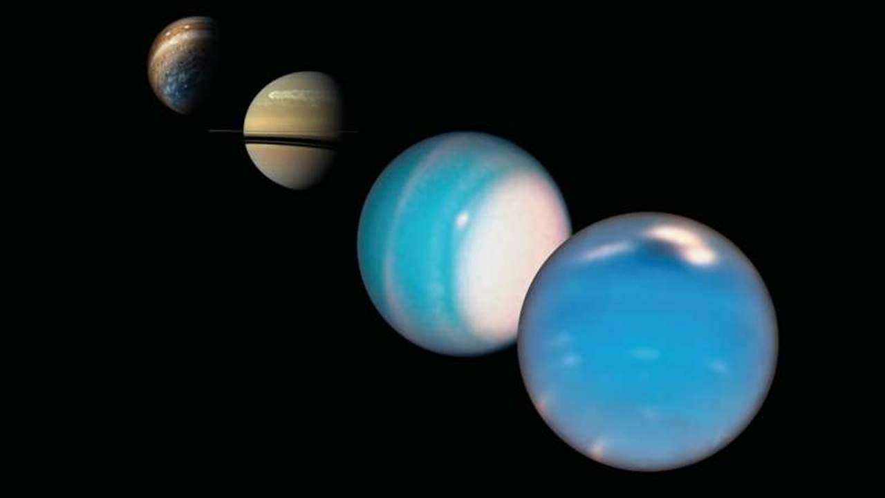Jupiter may have solved a mystery concerning Uranus and Neptune