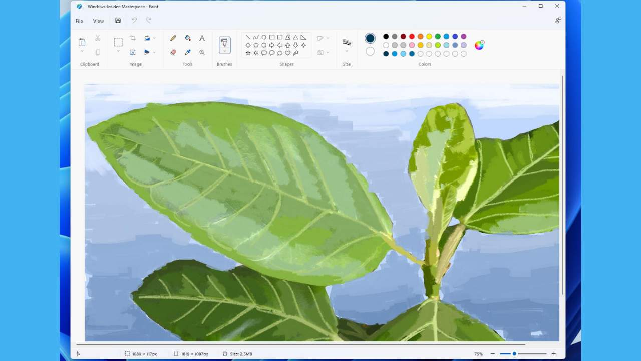 Windows 11 Microsoft Paint rolls out to Insiders with a new feature