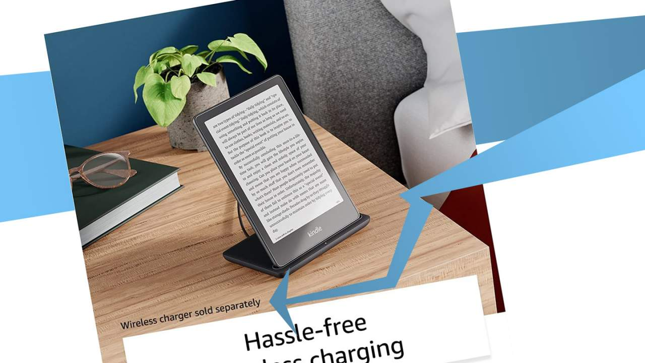 The Kindle Paperwhite Signature Edition wireless charger isn't what I expected