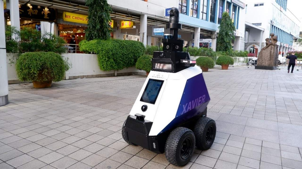 Police in Singapore are deploying a robot called Xavier