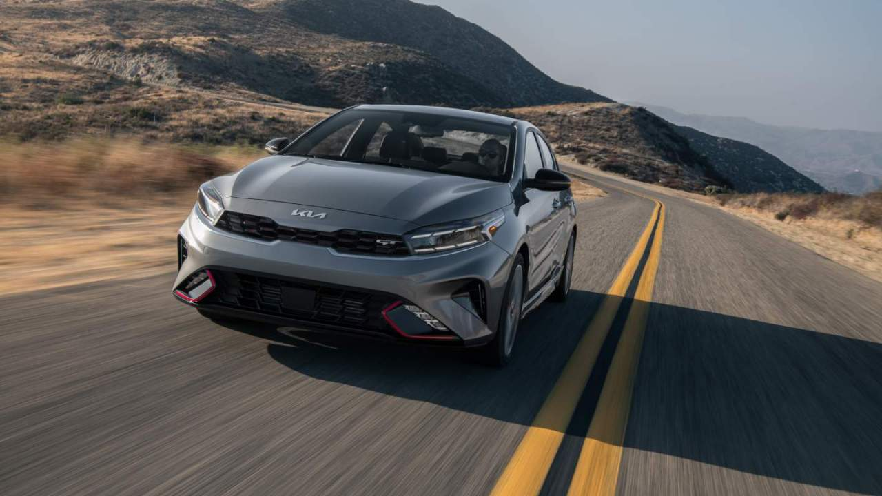 2022 Kia Forte arrives with a bold, new face and some welcome tech updates