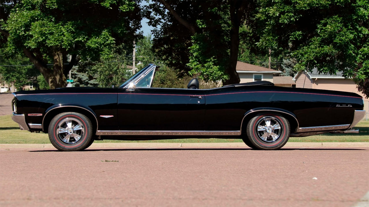 Perfect 1966 Pontiac GTO convertible looks better than new