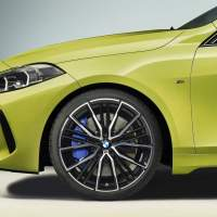 2022 BMW M135i xDrive appears with new paint colors and improved underpinnings