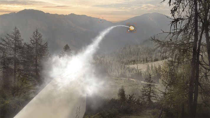 BAE Systems uses laser-guided rockets to take out pesky drones