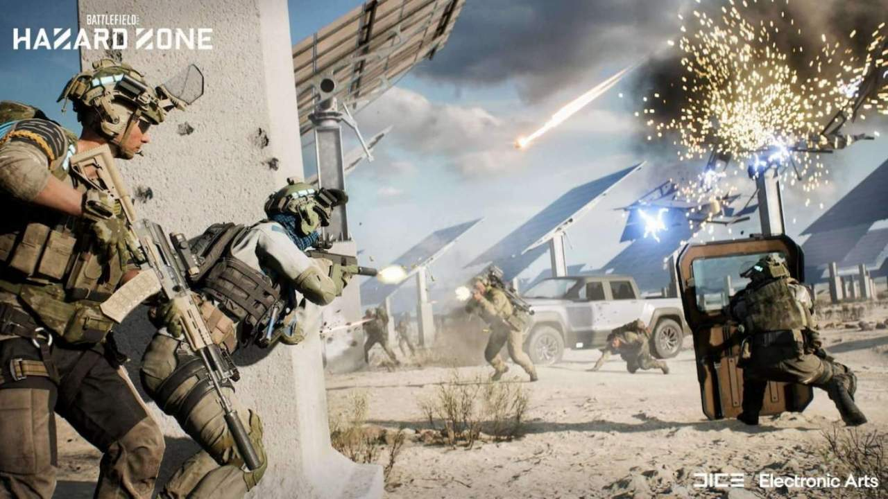 Battlefield 2042's squad-based Hazard Zone mode finally revealed