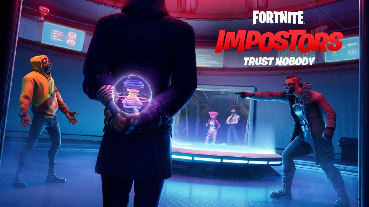 Fortnite Impostors finally gives Among Us credit while teasing a new collaboration