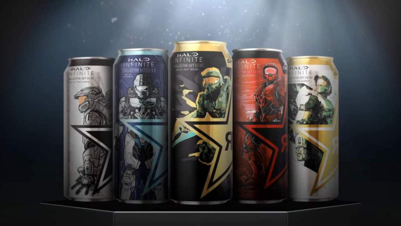 Halo Infinite's latest crossover: Rockstar Energy with in-game freebies