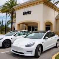 Hertz massive Tesla Model 3 EV order sends interest rocketing