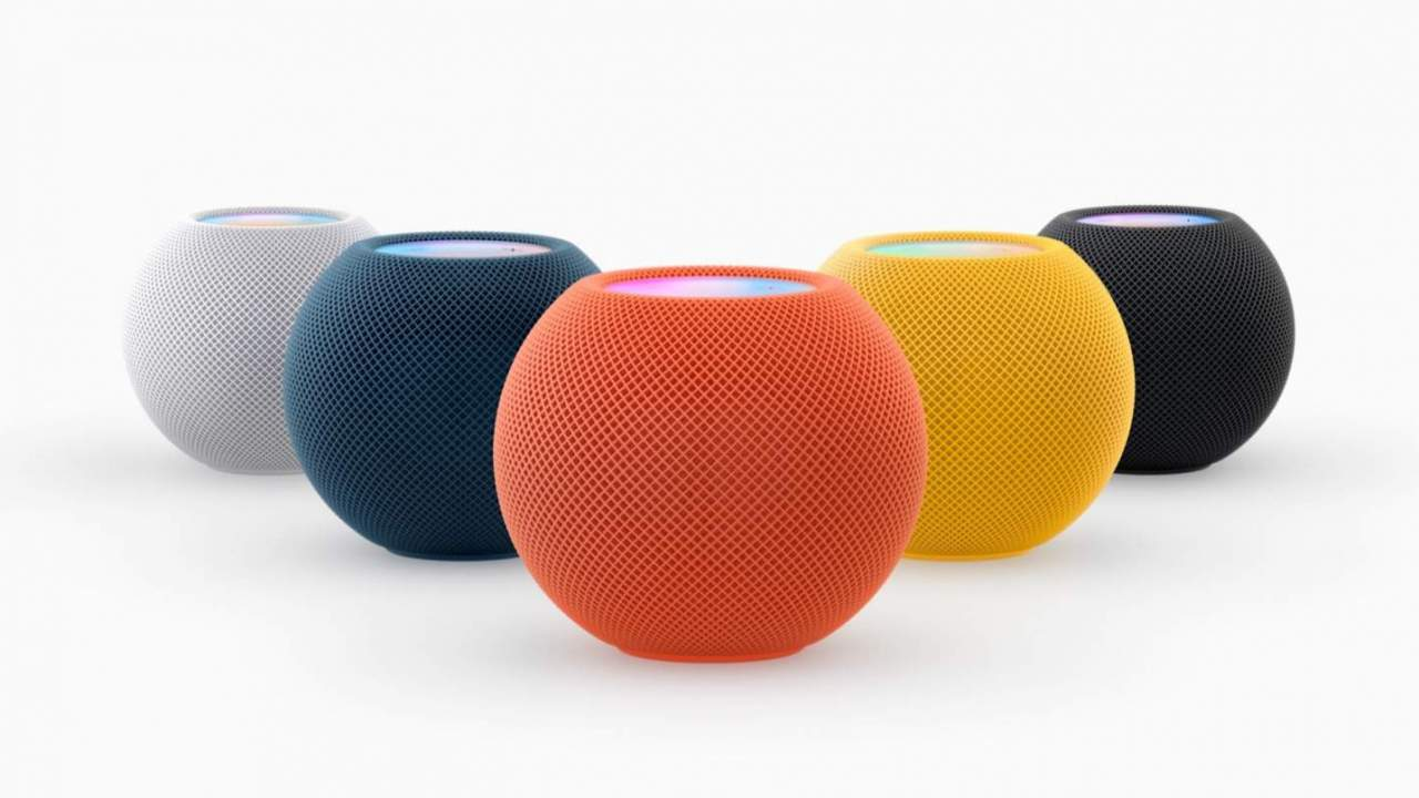 HomePod mini gets new colors in time for the holidays