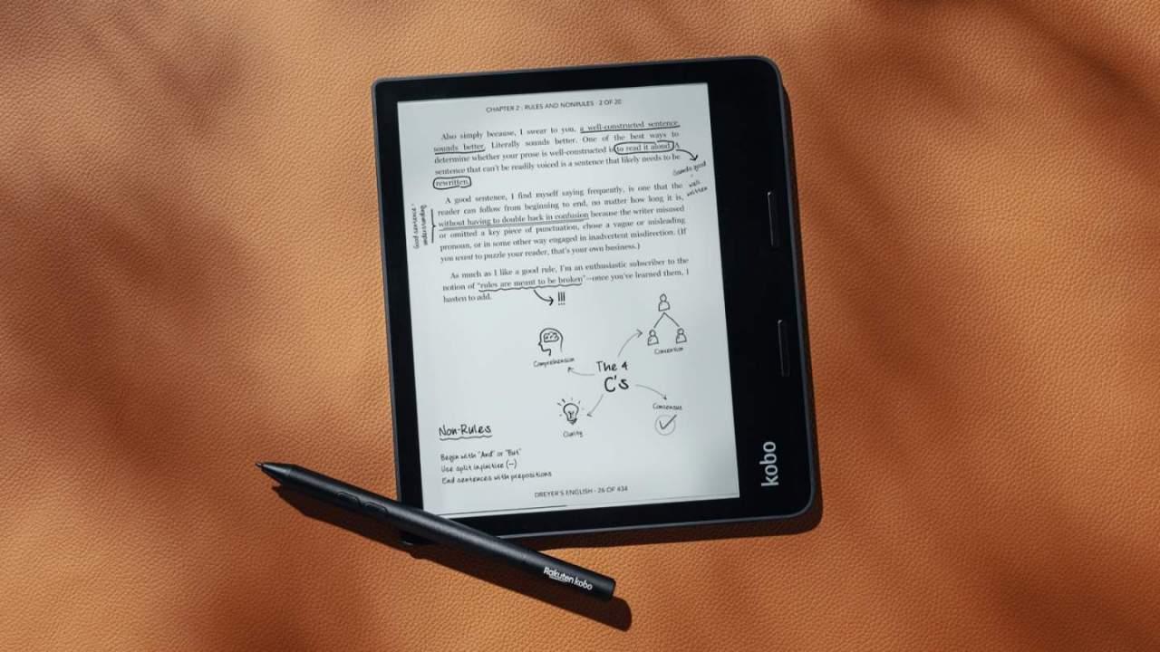 Kobo Sage ereader has a big advantage Kindle doesn't offer