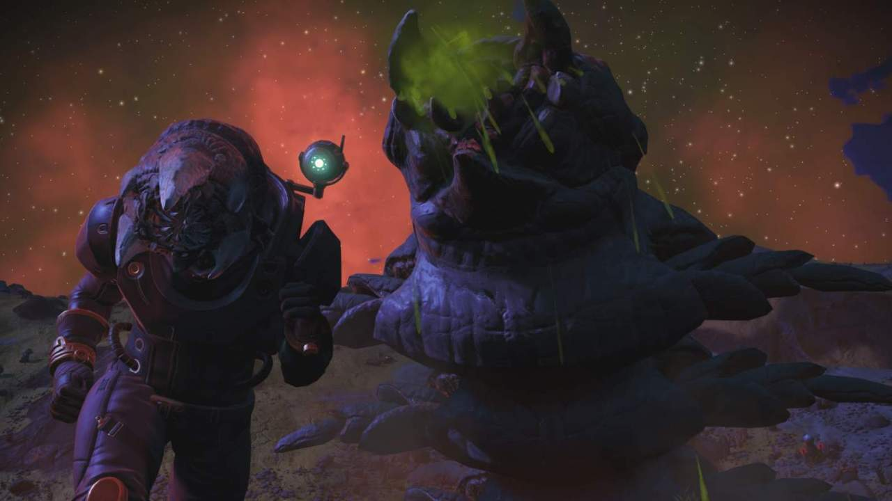 Newest No Man's Sky Expedition is all about gigantic sandworms