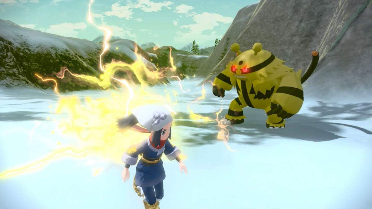Pokemon Legends: Arceus isn't the open-world game we expected