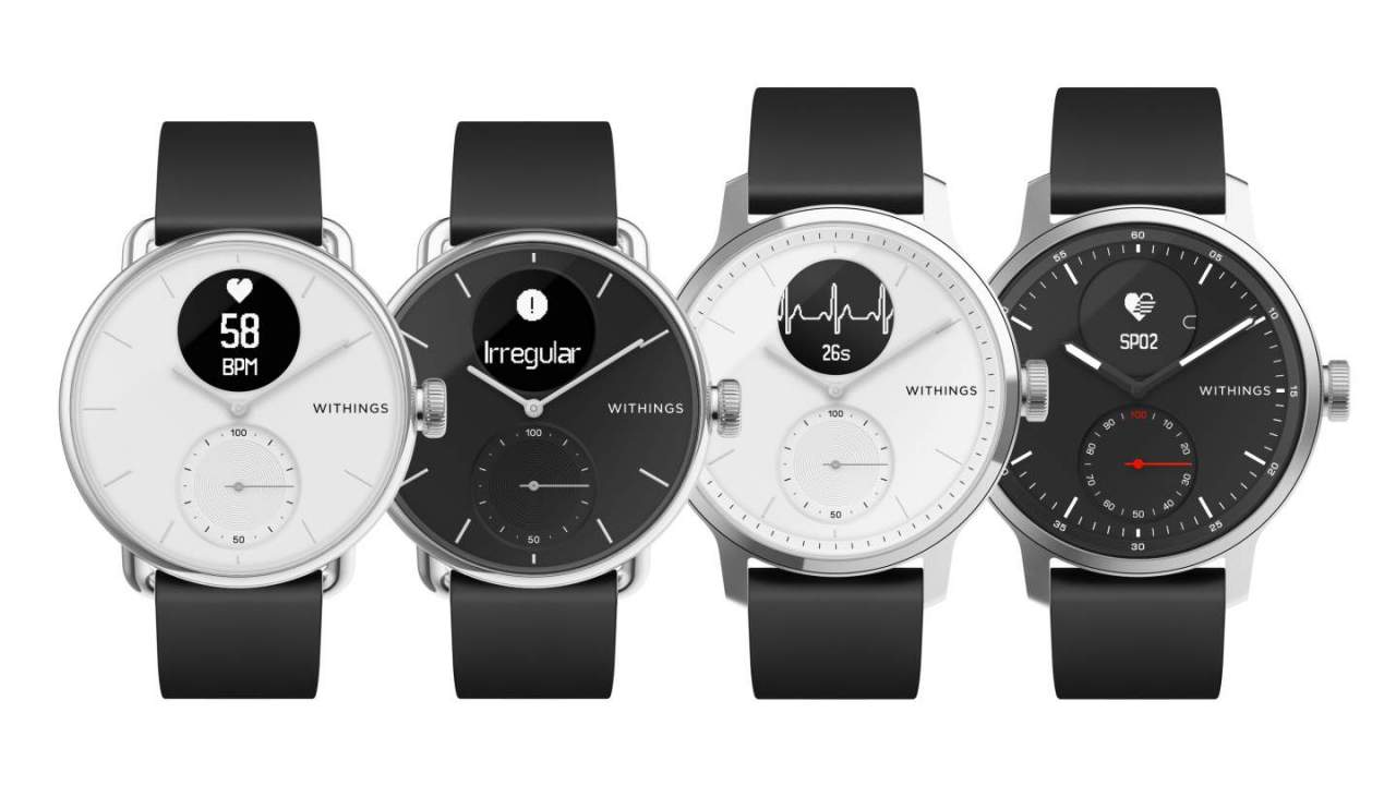 Withings ScanWatch set for US launch after ECG and SpO2 approval