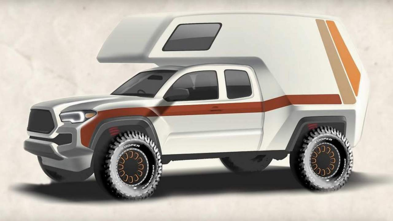 Toyota Tacozilla inspired by 1970s Chinook campervans to debut at SEMA