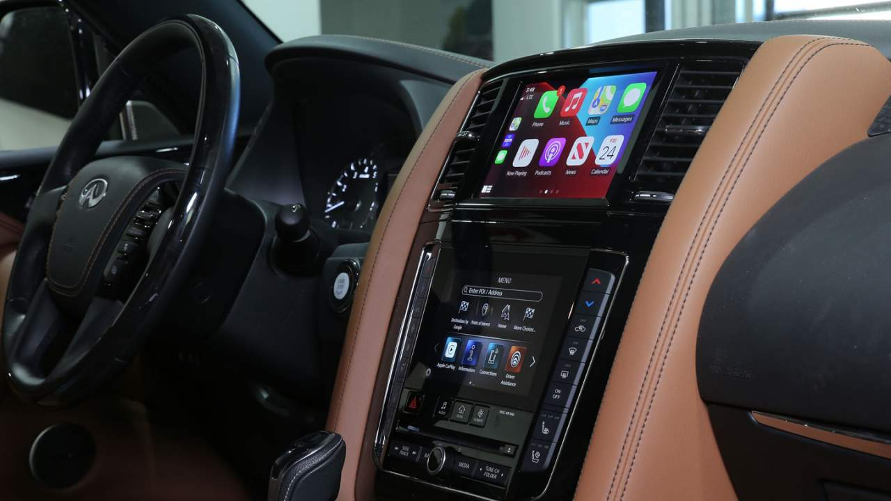 Infiniti offers free wireless Apple CarPlay upgrade for some vehicles