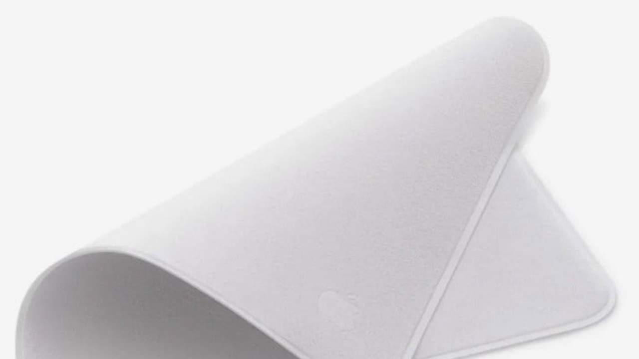 Apple reveals its own polishing cloth for $19