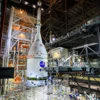 NASA targets a launch date for Artemis I early next year