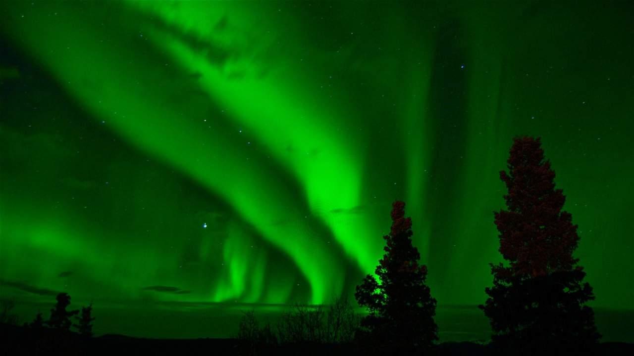 Massive solar storm creates stunning auroras around the Earth