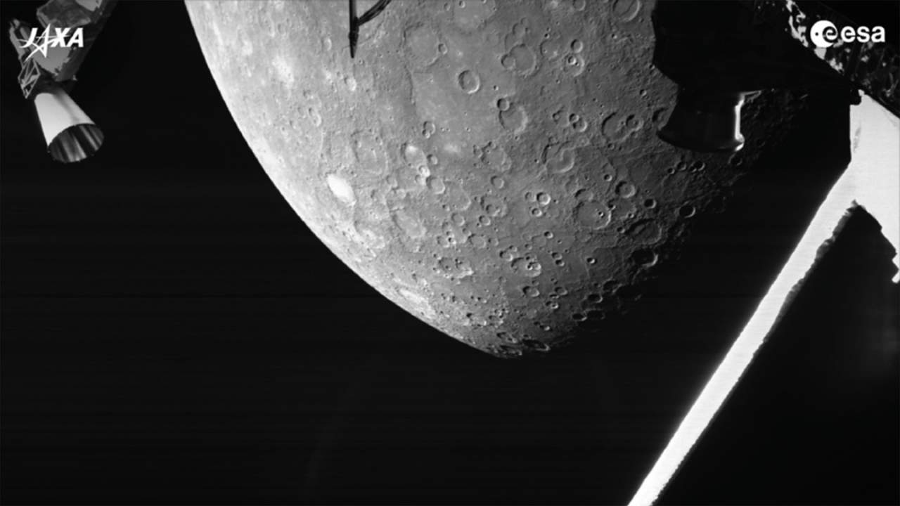 BepiColumbo mission shares its first image of Mercury
