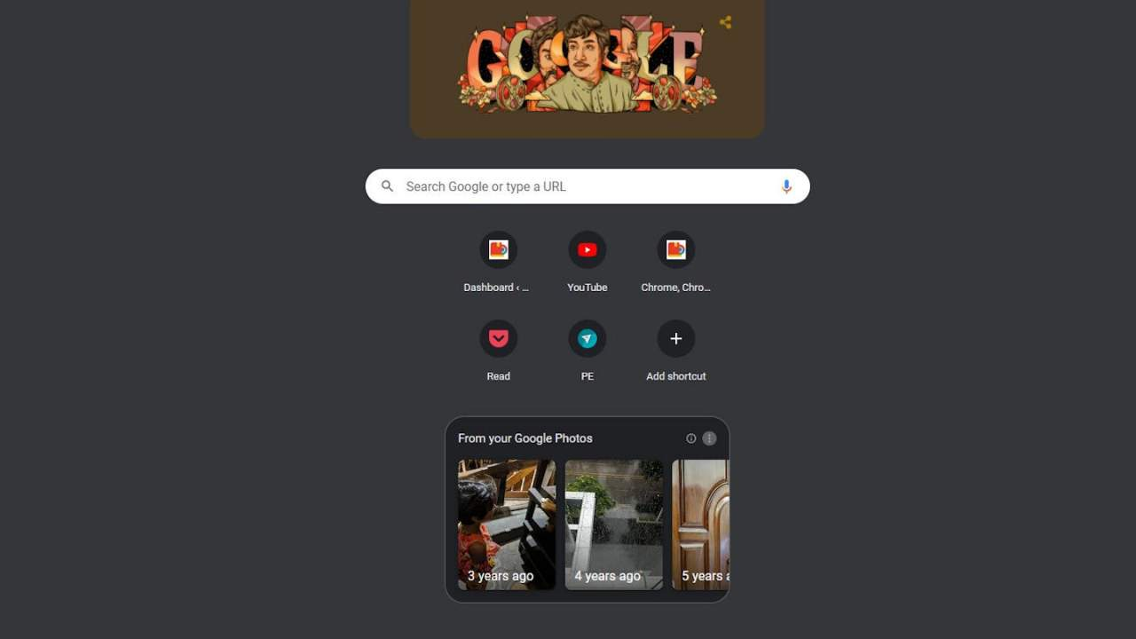 Chrome Google Photos module continues the integration push