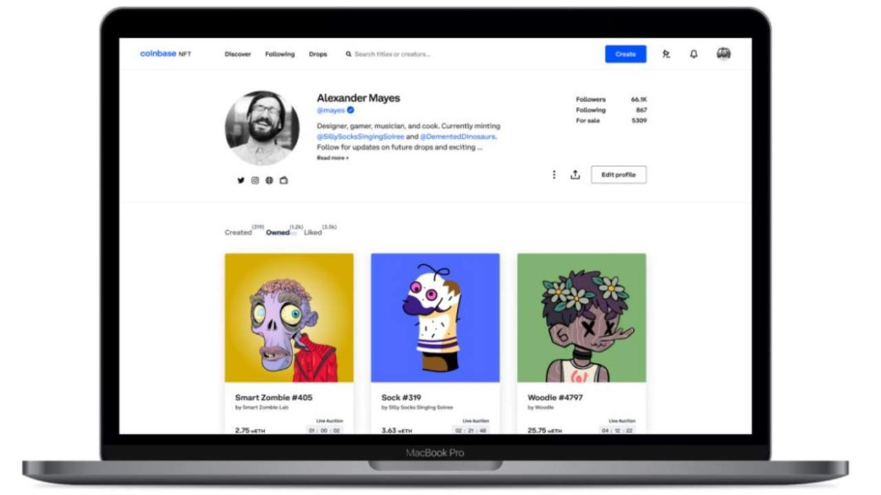 Coinbase NFT platform teases social features, showcases, and simplicity