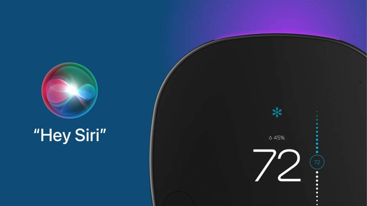 Update adding Siri to the ecobee SmartThermostat is rolling out