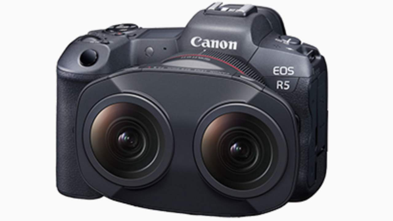 Canon's new VR video production system has a dual fisheye lens