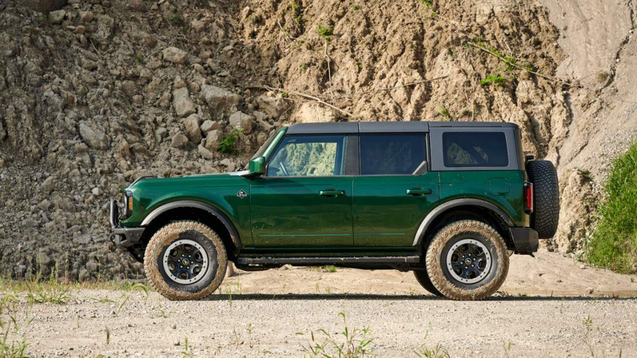 Leaks hint that some 2022 Ford Bronco leases have terrible residuals