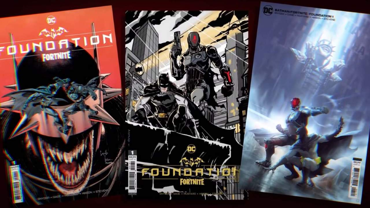 Fortnite gets another DC Comics Batman crossover with 'Foundation'