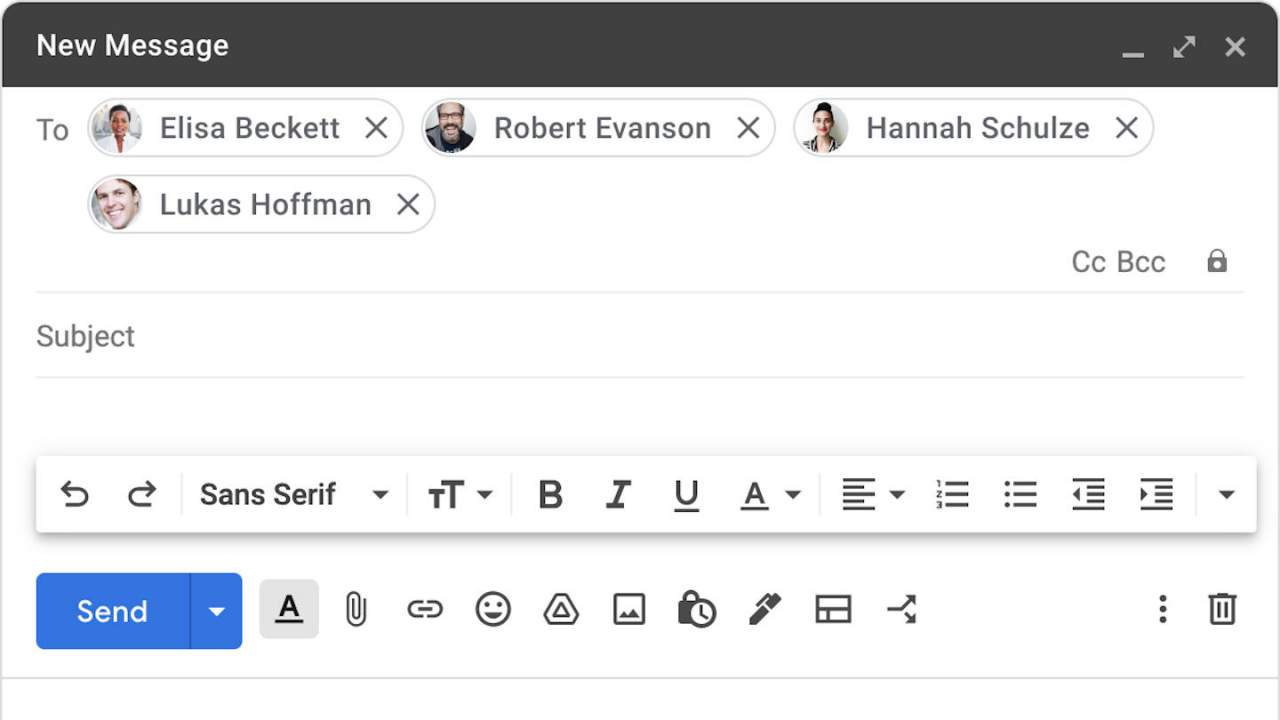 Gmail on the Web will make sure you have the right recipient