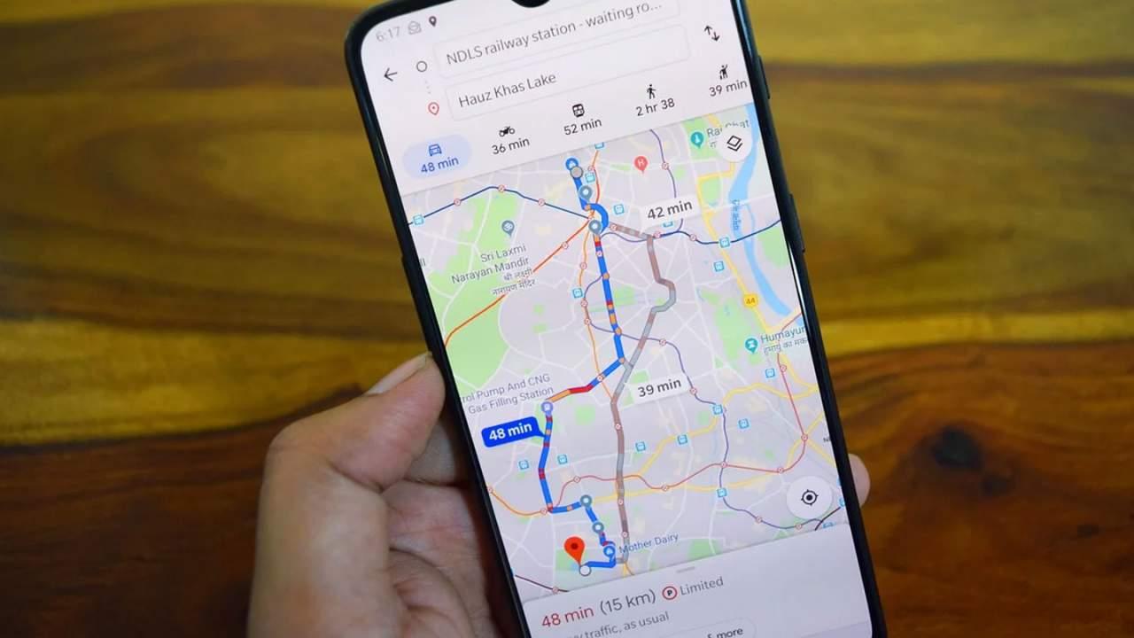 Google Maps gains new green navigation options