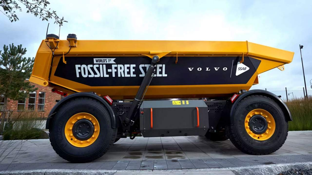Volvo Group collaborates for green steel and hydrogen
