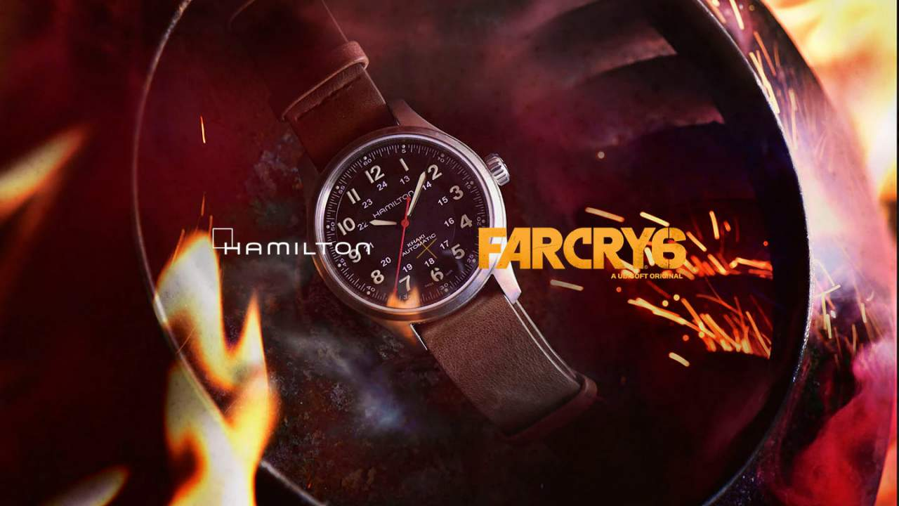 Far Cry 6 New Hamilton watch will cost you over $1k