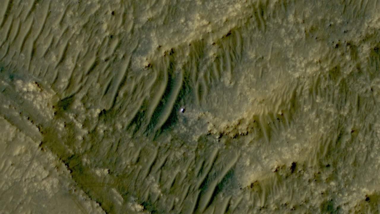 MRO's HiRise spots Perseverance rover from orbit