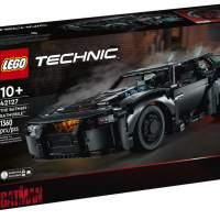 Lego Technic THE BATMAN Batmobile kit has 1360 pieces