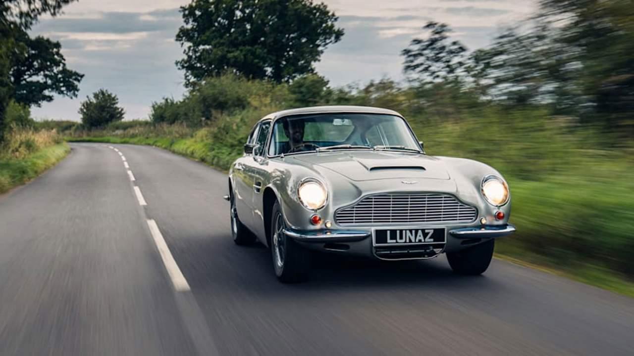 Lunaz shows off its electrifying Aston Martin DB6 EV