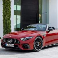 The 2022 Mercedes-AMG SL is beautifully powerful