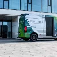 Mercedes Sustaineer EV concept packs solar panels for greener deliveries