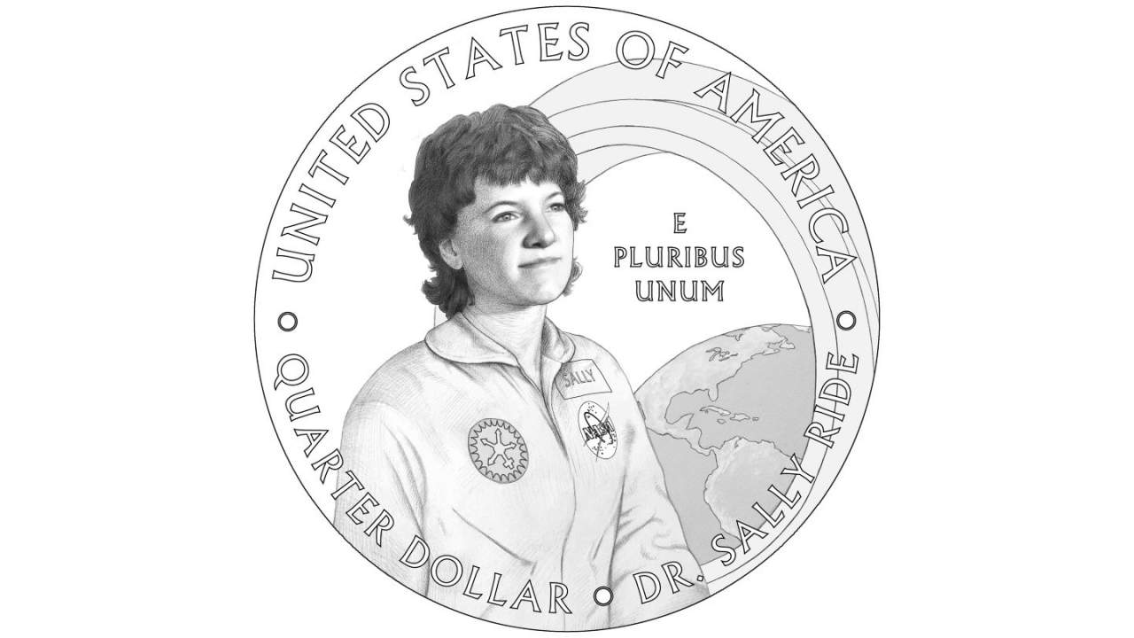 NASA astronaut Sally Ride will get her own limited edition US quarter