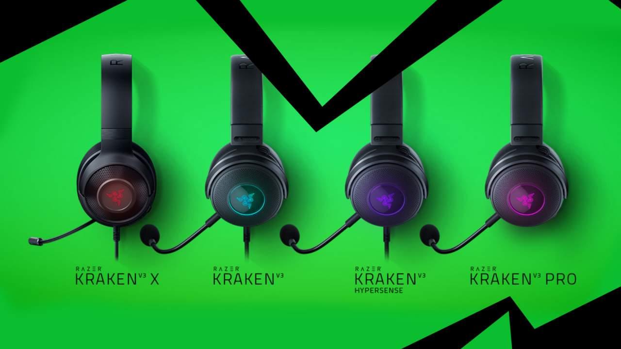 Razer Kraken V3: Multisensory immersion gaming headsets in-effect