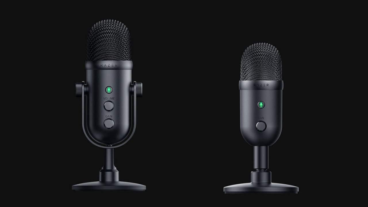 Razer Seiren V2 Pro and V2 X ramp up simple audio capture
