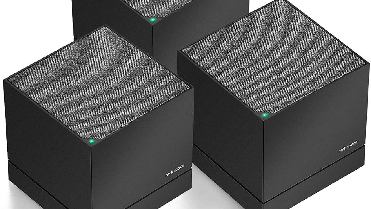 Rockspace AC2100 tri-band mesh Wi-Fi system is a bargain