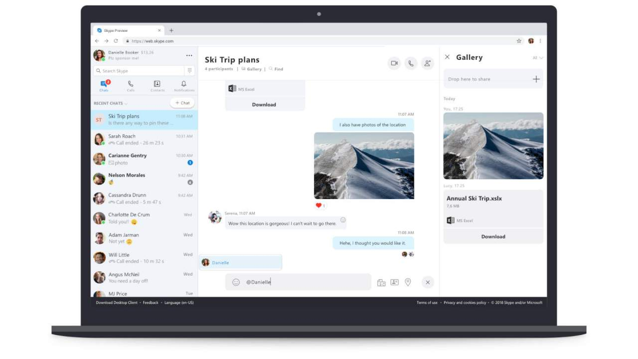 Skype now works also on Firefox after two years