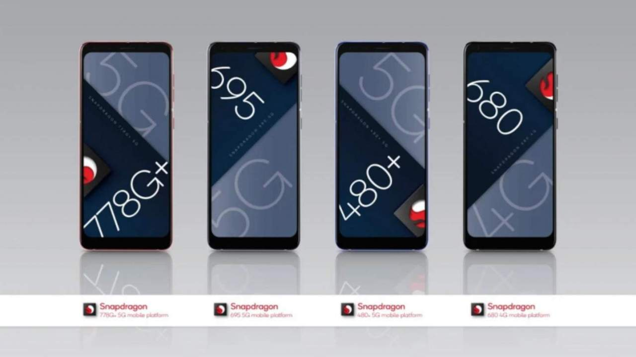Qualcomm Snapdragon 778G+, 695, 480+ join the 5G mid-range family