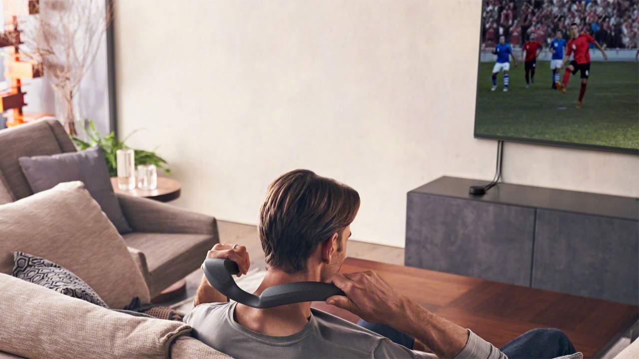 Sony SRS-NS7 is a wireless speaker home theater fans wear