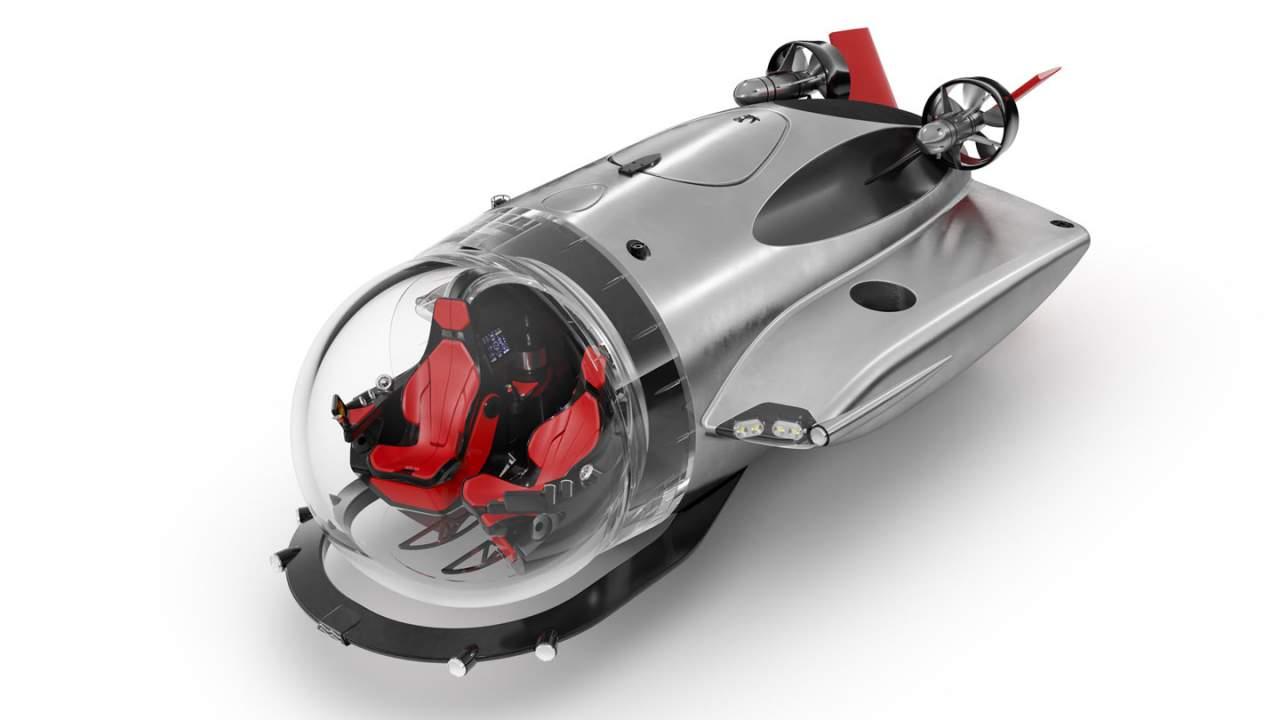 U-Boat Worx Super Sub looks like a James Bond gadget