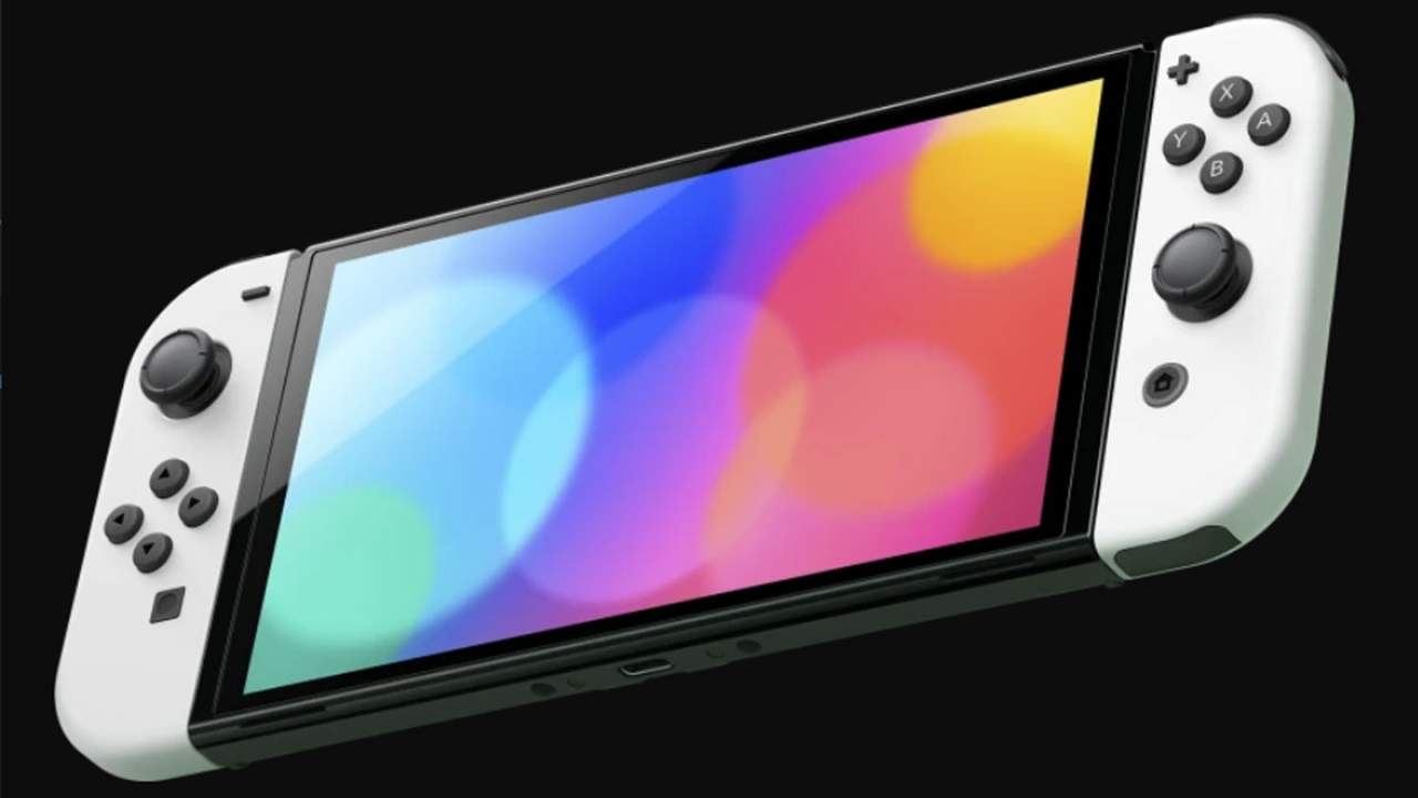 Nintendo says Switch OLED users should leave the screen protector on