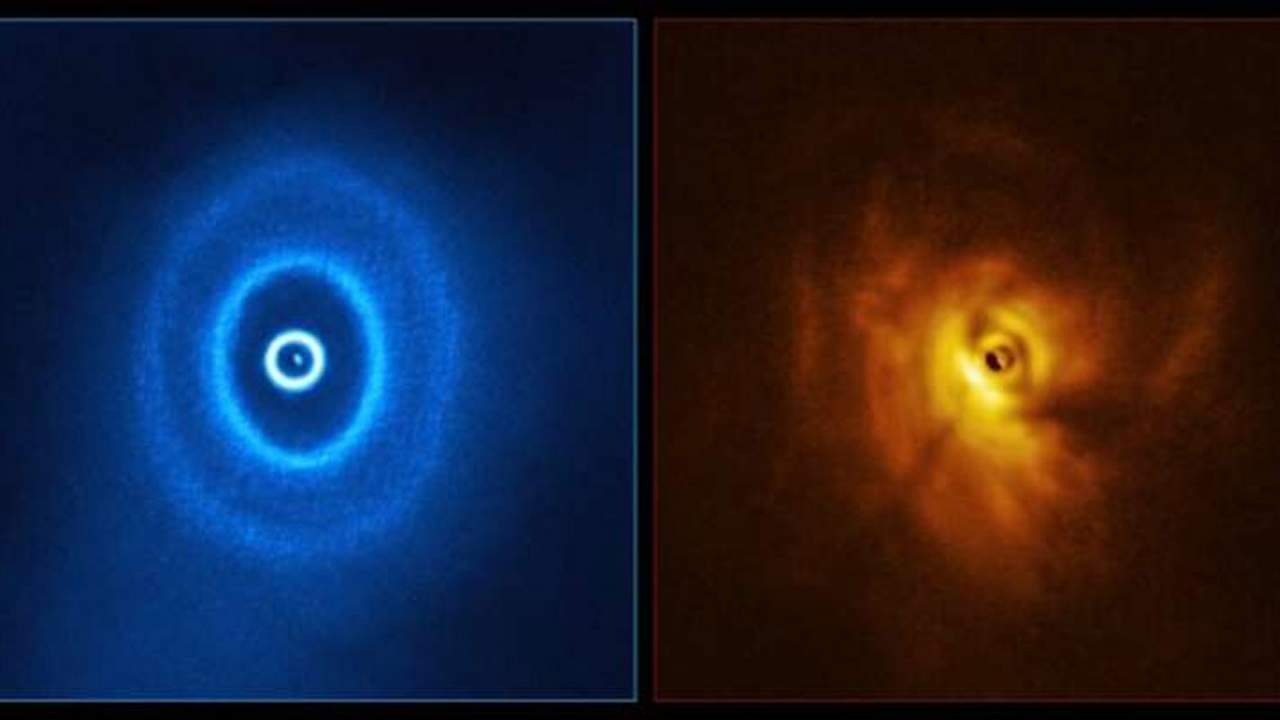 A newly discovered three-star system may have orbiting planets