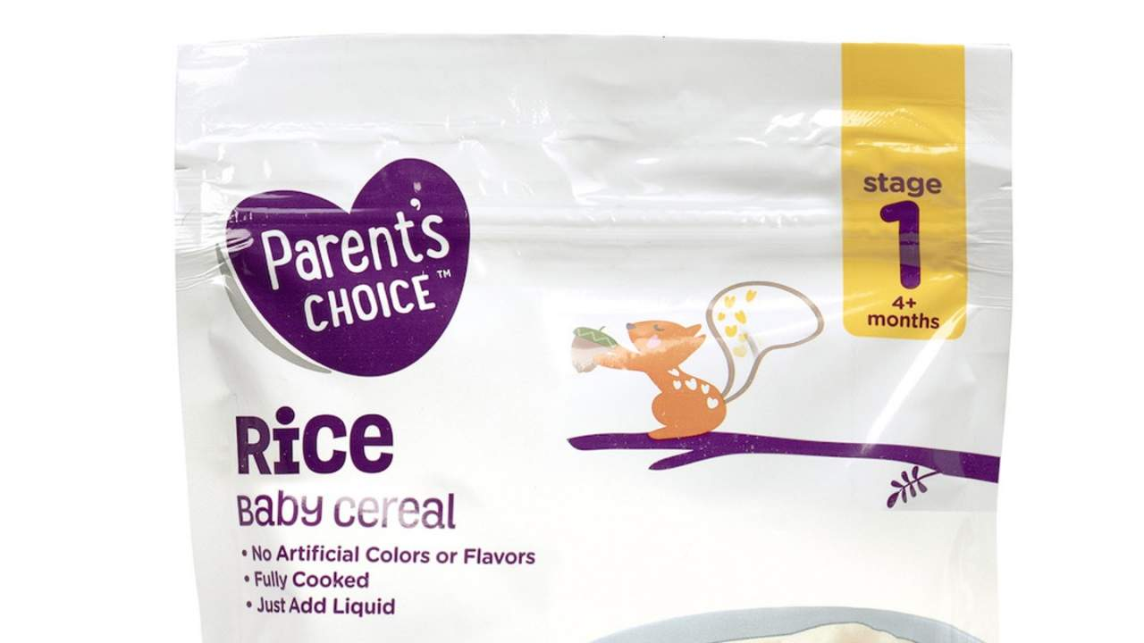 Parent's Choice baby food recalled at Walmart over arsenic levels